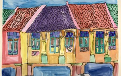 Shophouse Urbansketch!